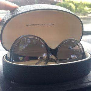 Balenciaga Edition Oversized Sunglasses